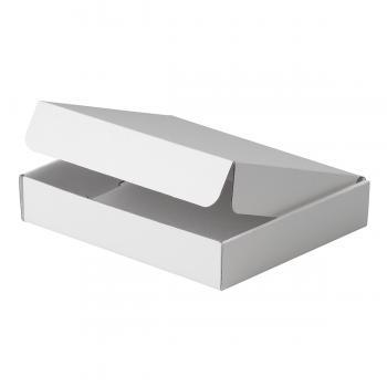 Estuche A, cartón sencillo Blanco , serie 90000 (Frontal)