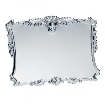 Placa aluminio acabado plata brillo, serie P020 (Frontal)