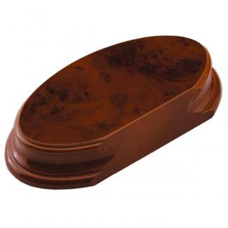Peana Ovalada Raiz Nogal, serie 10500 (Frontal)