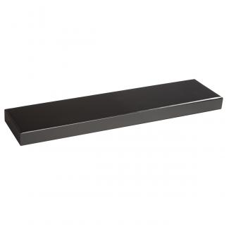 Base Rectangular Negro, serie 20140 (Frontal)