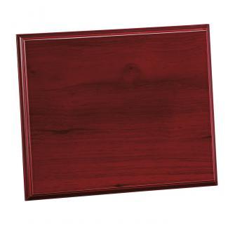 Placa de madera Etimoe Caoba Apoyo madera recto, serie 50210 (Frontal)