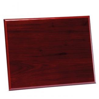 Placa de madera señalización Etimoe Caoba , serie 50340 (Frontal)