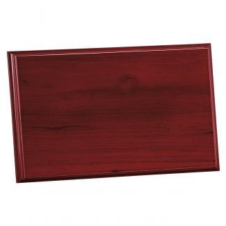 Placa de madera Etimoe Caoba Apoyo madera recto, serie 50390 (Frontal)