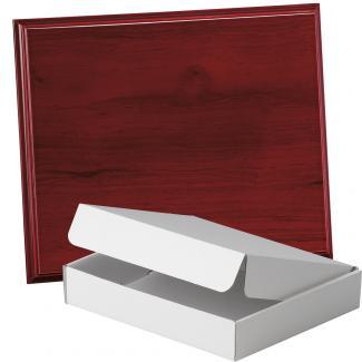 Placa de madera Etimoe Caoba Apoyo madera corbata, serie 50760A (Frontal)