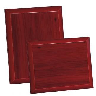 Placa de madera Etimoe Caoba Apoyo madera corbata, serie 50770 (Frontal)