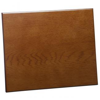 Placa de madera Roble Avellana Apoyo madera recto, serie 50880 (Frontal)