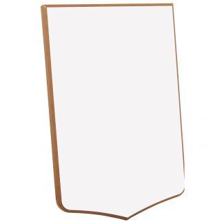 Metopa madera sublimación Blanco, serie 60900 (Frontal)