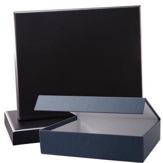 Cuña madera rectangular negro con base, serie 70150E-20140 (Frontal)
