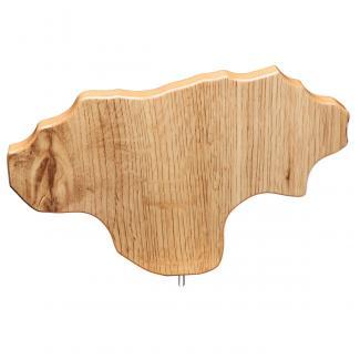 Mapa madera Cantabria roble natural (solo parte alta) (Frontal)