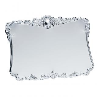 Placa aluminio acabado plata brillo, serie P000 (Frontal)