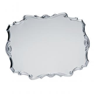 Placa aluminio acabado plata brillo, serie P030 (Frontal)