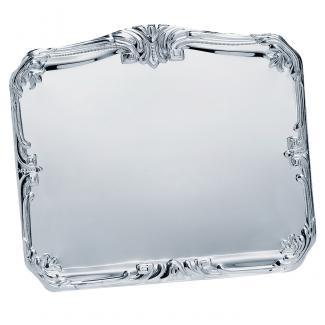 Placa aluminio acabado plata brillo, serie P050 (Frontal)