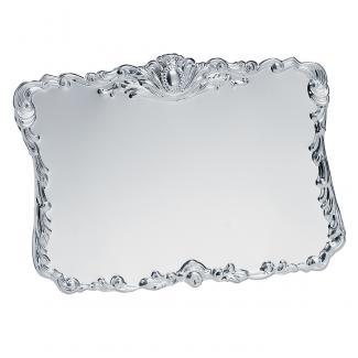 Placa aluminio acabado plata brillo, serie P094 (Frontal)