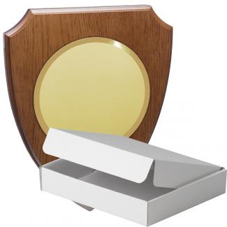 Kit metopa de madera color roble avellana mate, aluminio y estuche sencillo, serie P360A-60820 (Frontal)