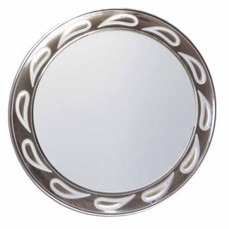 Placa aluminio sublimación redonda plata mate, serie P500 (Frontal)